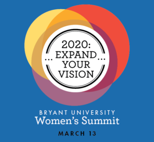Join me at the Bryant Women's Summit 2020! I will be talking about Entrepreneurship!
